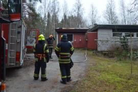 Asuntopalossa Pyhärannassa menehtyi yksi ihminen. Kuva: Juhani Marttala