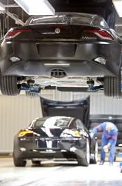 Karman tuotanto päättyi kesällä 2012. Kuva: Valmet Automotive
