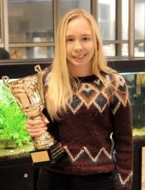 Enni Jalava palkittiin vuoden junioriurheilijana.