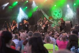 Karjurockin viime kesän nimekkääseen esiintyjäkaartiin kuului Helloween.