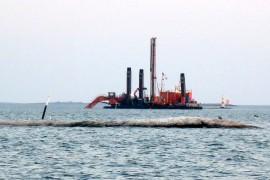 Uudenkaupungin meriväylän syvennystyöt alkoivat lokakuussa 2013.