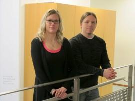 Laura Peltonen ja Tuomas Vuorela kannustavat mukaan kaveritoimintaan.
