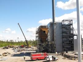 Uusi KPA-laitos kaukolämmön tuotantoa varten nousee Onkakadun varteen.