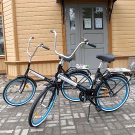Kirjastosta voi nyt lainata myös polkupyörän.