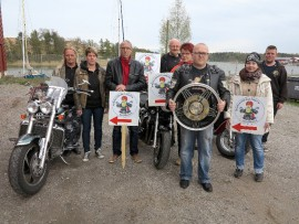 Uusikaupunkilaiset motoristit saavat huomenna vieraita ympäri Suomea.