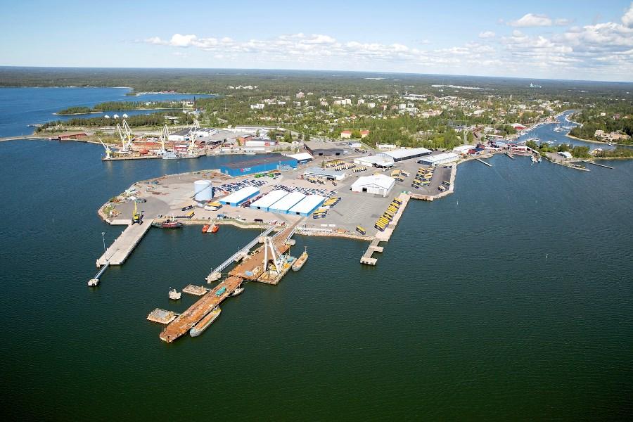 Uudenkaupungin sataman maksama veropotti kasvoi edellisestä vuodesta. Arkistokuva: Noora Konttinen.
