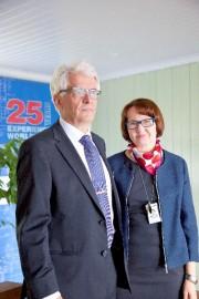 Mauri ja Sinikka Kontu perustivat Vahteruksen 25 vuotta sitten.