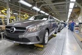 A-sarjan valmistus jatkuu autotehtaalla ensi vuonna.
