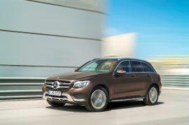 Mercedes-Benzin GLC-mallin valmistus alkaa autotehtaalla ensi vuonna.