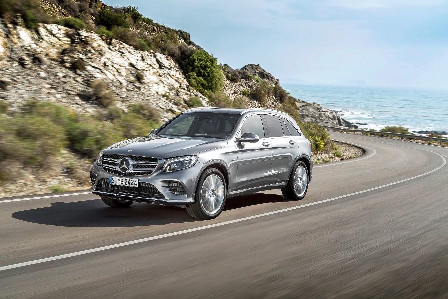 Mercedes-Benzin GLC-katumaaasturin sarjatuotanto alkaa autotehtaalla tämän vuoden alkupuolella.