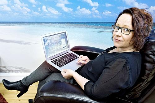 Katja Pellikka halusi luoda sivuston, joka säilyttää muistot edesmenneistä rakkaista.