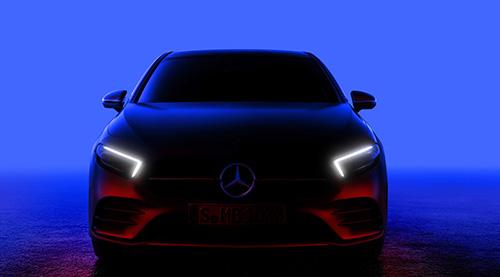 Uusi A-luokan Mercedes-Benz esitellään perjantai-iltana.