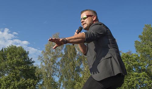 Jari Sillanpää esiintyi kesällä Turussa DBTL:ssä. Kuva: Jane Iltanen.