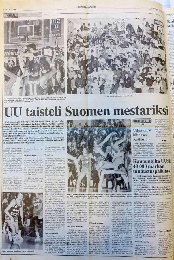 Suomen Uu